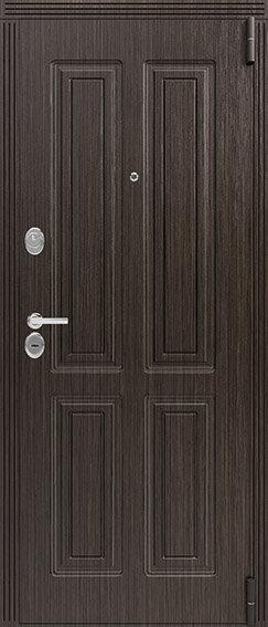 Легион L-4/1 входная дверь черный муар
