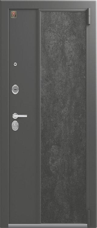 Легион L-7 входная дверь серый шелк