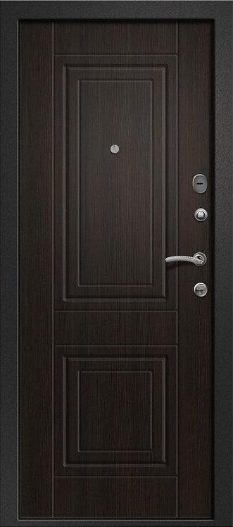 Ретвизан Орфей 211 классика входная дверь черный сатин