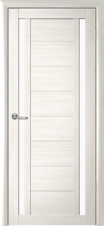 Альберо Мегаполис Рига межкомнатная дверь белое стекло