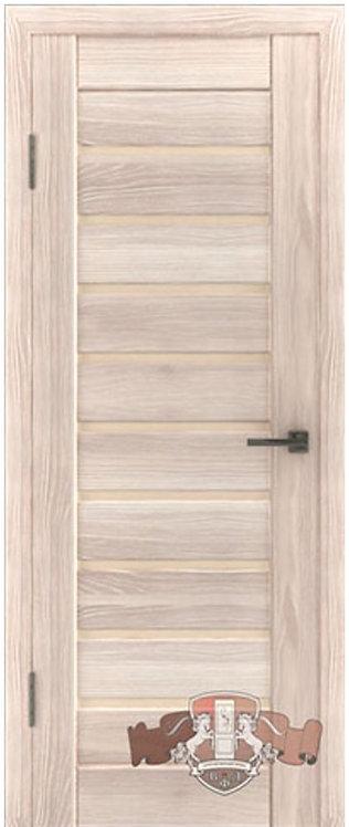 ВФД Лайн Л3ПГ1 межкомнатная дверь с матовым бежевым стеклом