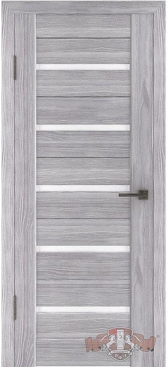 ВФД Лайн Л1ПГ2 межкомнатная дверь с матовым белым стеклом