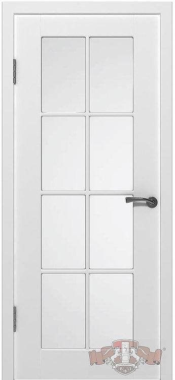 ВФД Эмаль Порта межкомнатная дверь со стеклом