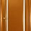 Thumbnail: Океан Шторм-2 межкомнатная дверь со стеклом