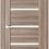 Thumbnail: AxelDoors ЧДК R1 межкомнатная дверь с матовым стеклом