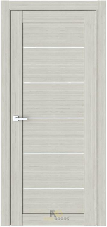 AxelDoors ЧДК R6 межкомнатная дверь с матовым стеклом