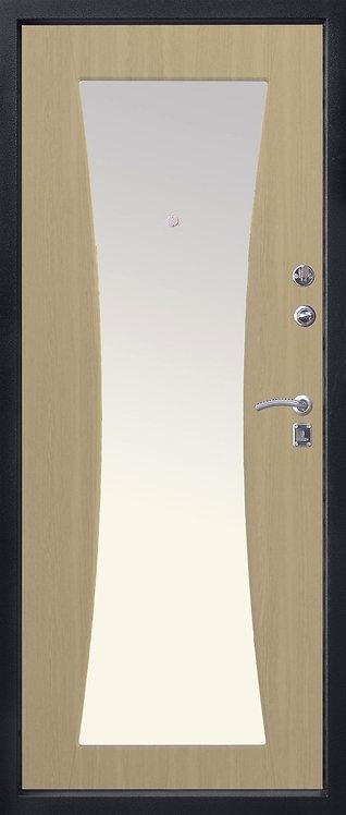 Алмаз Топаз-2 входная дверь с зеркалом
