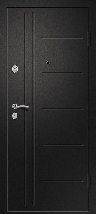 Ретвизан Медея 311 входная дверь черный сатин