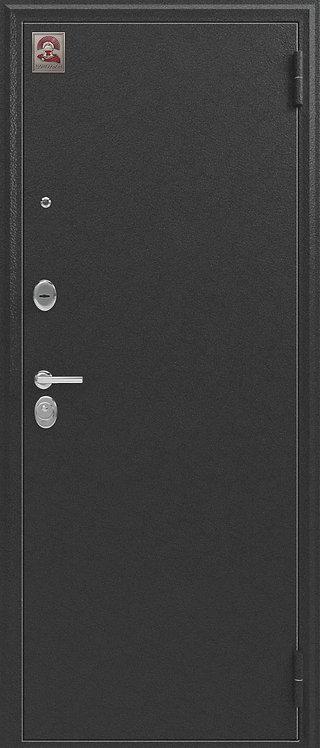 Центурион LUX-1 с зеркалом входная дверь антик серебро