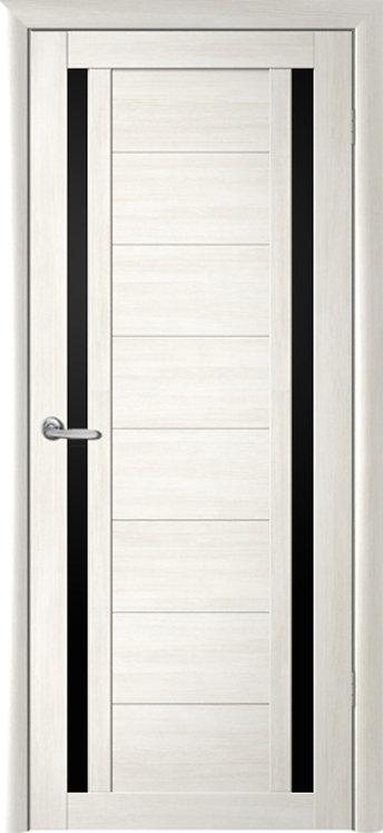 Альберо Мегаполис Рига межкомнатная дверь черное стекло