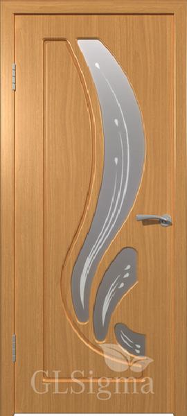 ВФД Сигма Лотос межкомнатная дверь со стеклом