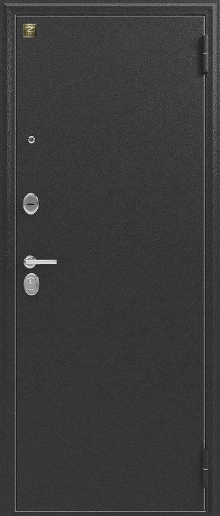Легион L-1 входная дверь с зеркалом антик-серебро