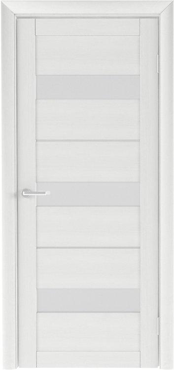 Альберо Тренд Т-7 межкомнатная дверь белое стекло