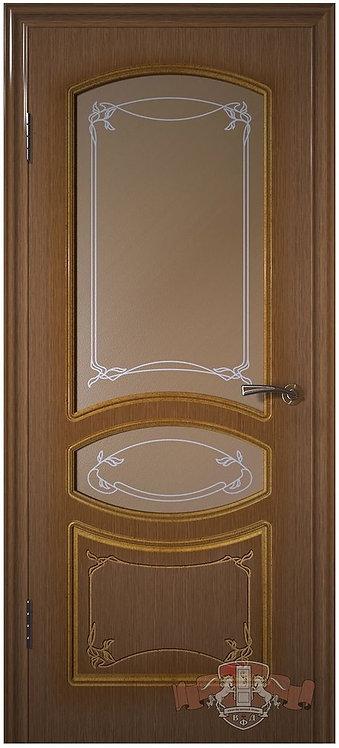 ВФД Версаль межкомнатная дверь со стеклом