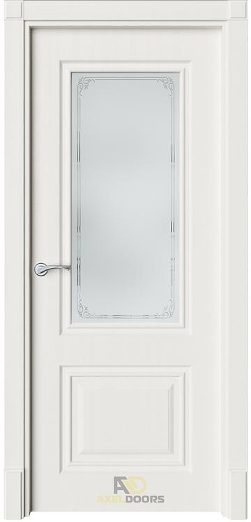 AxelDoors ЧДК Нонна межкомнатная дверь со стеклом