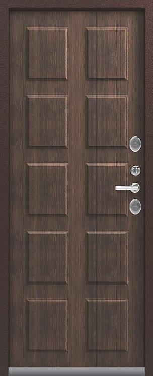 Центурион Т-4 входная дверь антик-медь