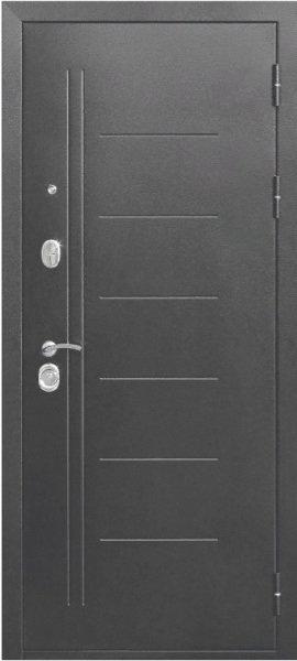 Ferroni 10см Троя Серебро MAXI Зеркало входная дверь с зеркалом