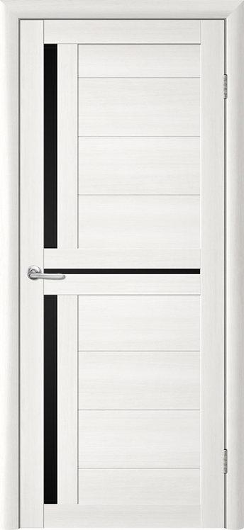 Альберо Тренд Т-5 межкомнатная дверь черное стекло
