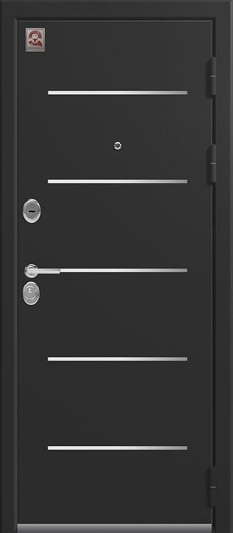 Центурион LUX-2 входная дверь черный муар