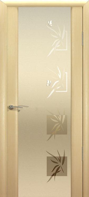Океан Гламур Шторм-3 Гламур межкомнатная дверь со стеклом