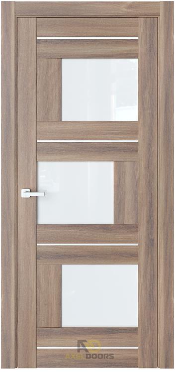 AxelDoors ЧДК К3 межкомнатная дверь с матовым стеклом