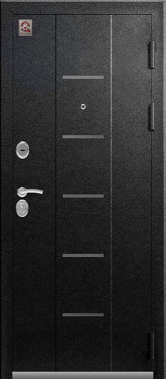 Центурион С-105 входная дверь черный муар