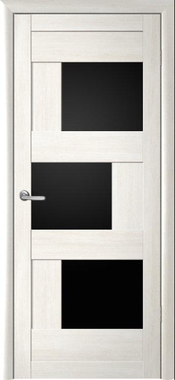 Альберо Мегаполис Стокгольм межкомнатная дверь черное стекло