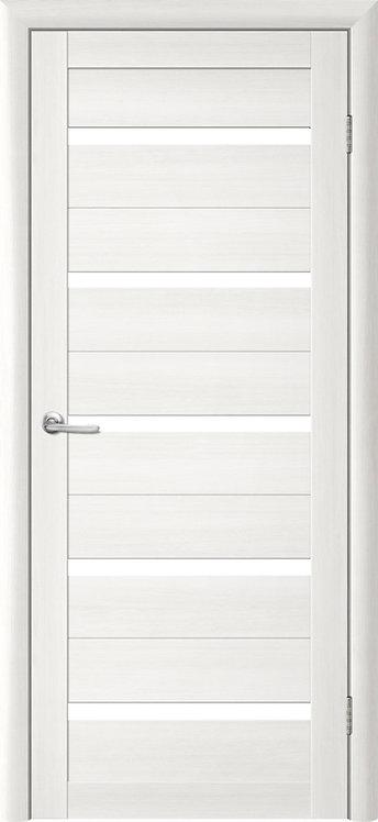 Альберо Тренд Т-2 межкомнатная дверь белое стекло