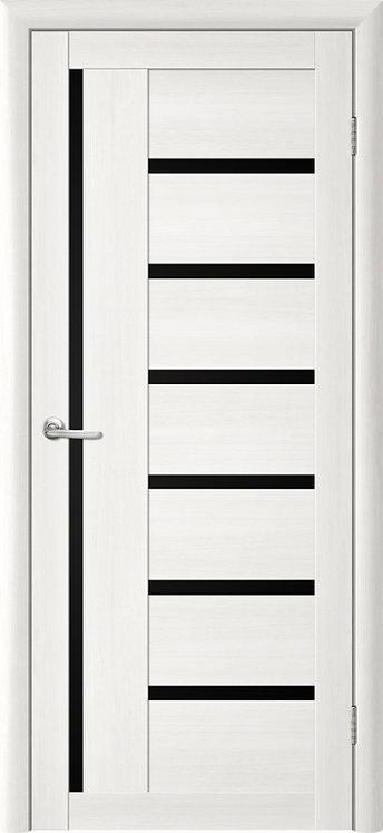 Альберо Тренд Т-3 межкомнатная дверь черное стекло