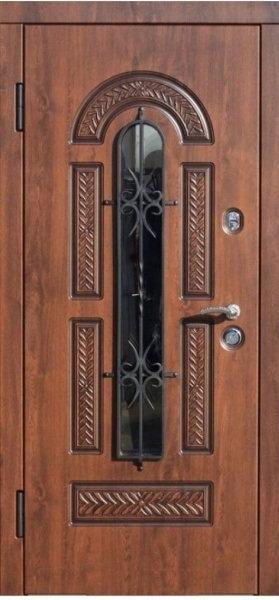 Ferroni Виконт входная дверь со стеклом