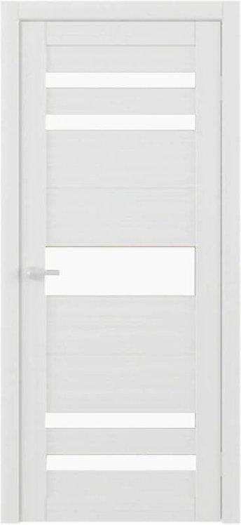 Альберо Тренд Т-10 межкомнатная дверь белое стекло
