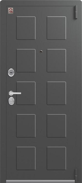Центурион LUX-5 входная дверь серый шелк