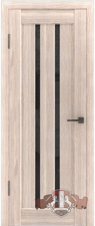 ВФД Лайн Л2ПГ1 межкомнатная дверь с черным стеклом