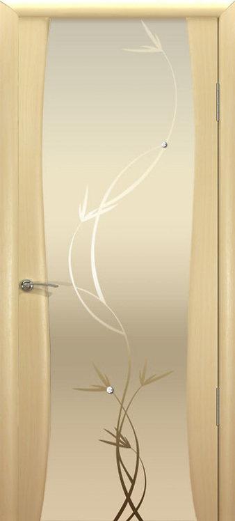 Океан Буревестник-2 Гламур межкомнатная дверь со стеклом