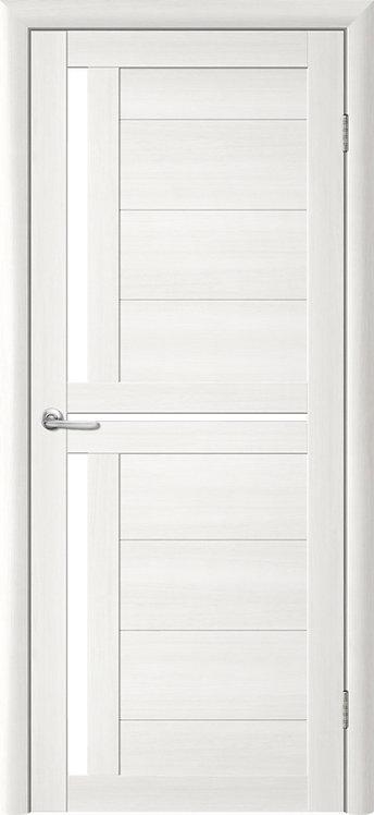 Альберо Тренд Т-5 межкомнатная дверь белое стекло