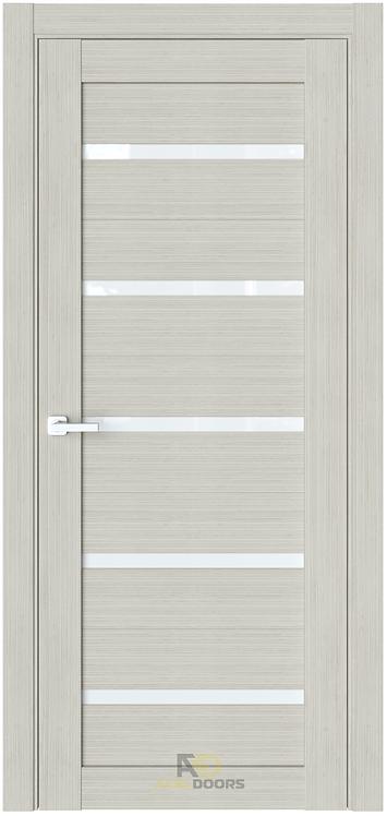 AxelDoors ЧДК R1 межкомнатная дверь с матовым стеклом