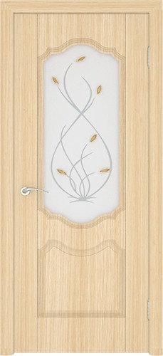 Ростра Орхидея межкомнатная дверь со стеклом