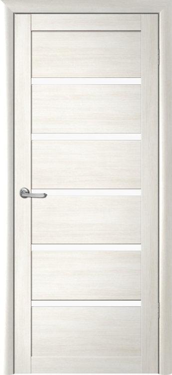 Альберо Мегаполис Вена межкомнатная дверь белое стекло