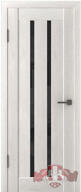 ВФД Лайн Л2ПГ5 межкомнатная дверь с черным стеклом