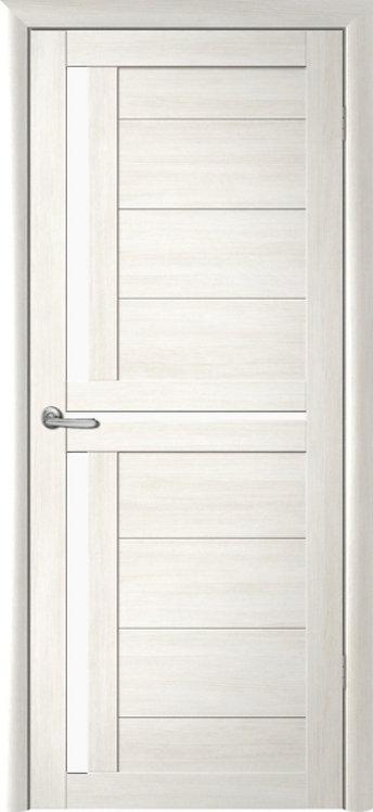 Альберо Мегаполис Кельн межкомнатная дверь белое стекло