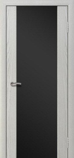 Альвион Милена-3 межкомнатная дверь черное стекло
