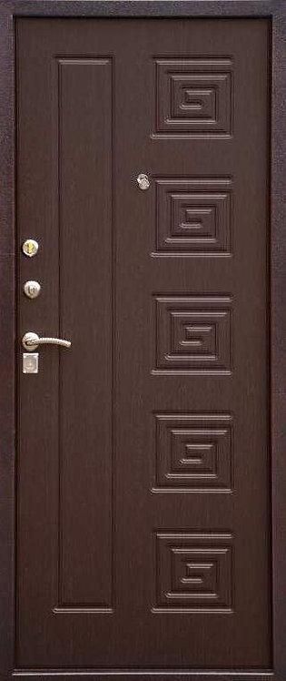 Сибирь S-2 входная дверь серебро