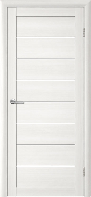 Альберо Тренд Т-1 межкомнатная дверь белое стекло