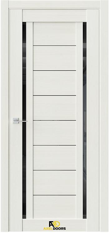 AxelDoors Q 33 межкомнатная дверь с черным стеклом