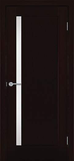 Альфа Э1 межкомнатная дверь белое стекло