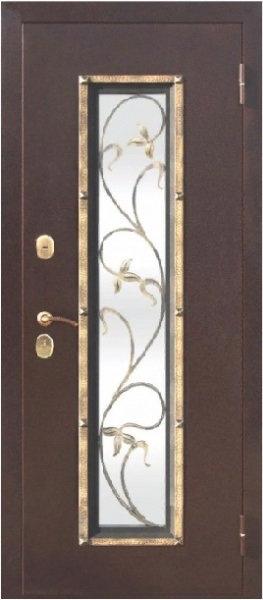 Ferroni Плющ входная дверь со стеклом