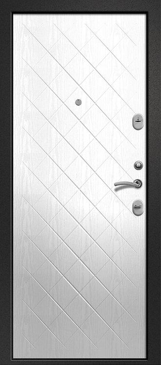Ретвизан Орфей 321 входная дверь черный сатин