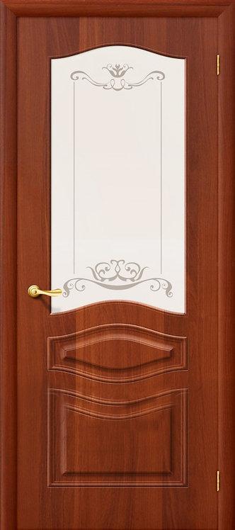 Дера Леона межкомнатная дверь со стеклом