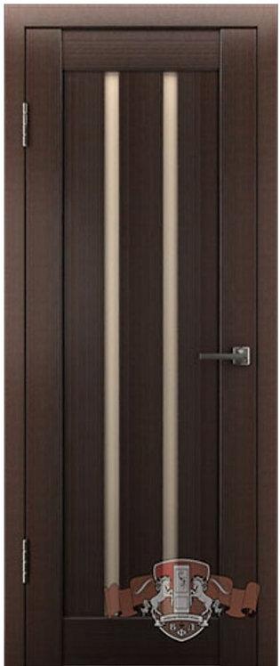 ВФД Лайн Л2ПГ4 межкомнатная дверь с матовым бежевым стеклом