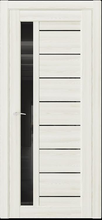 AxelDoors Q X1 межкомнатная дверь черное стекло